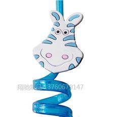 翔驰供应可爱卡通吸管儿童吸管 动物图案案吸管创意吸管