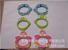 供应儿童眼镜饰框 PVC软胶卡通镜框 泳镜赠送礼品 小鸡镜框