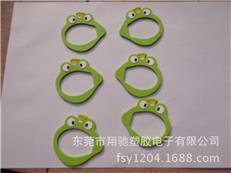 工厂供应青蛙儿童眼镜框 可爱PVC镜框 卡通太阳镜架 可来图定制