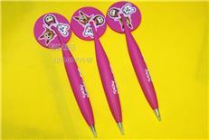 供应PVC软胶磁性笔橡胶工艺笔卡通软胶笔(美观实用)卡通礼品笔