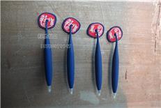 专业生产环保PVC软胶磁铁笔 冰箱贴笔 各类卡通磁性笔