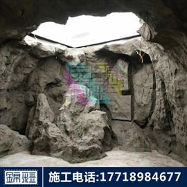 人工溶洞施工 專業溶洞制作水泥溶洞人造石筍人造鐘乳石人造九大蓮池施工