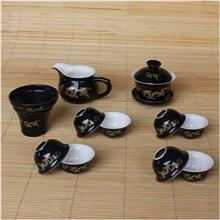 12头金龙茶具