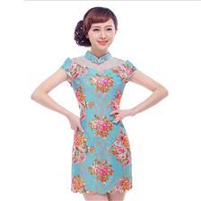 清仓特价夏装新款旗袍裙