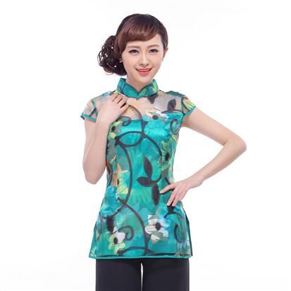 蕾丝旗袍复古