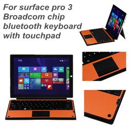 For Surface pro 3/4 Bluetooh keyboard Delachable cover with Touchpad WSP-328