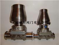 氣動快裝隔膜閥G681W-10P