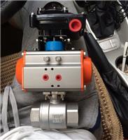 Q611F-40P气动丝扣球阀