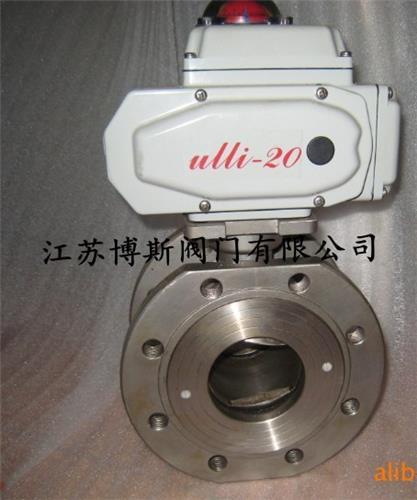 Q971F-16C電動對夾球閥
