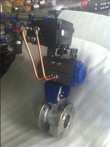 VQ640F-25P氣動V型球閥