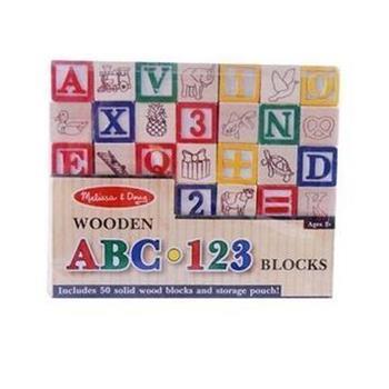 木制积木玩具 字母动物形状认知启蒙早教益智