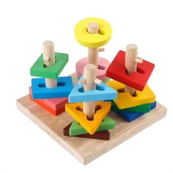 益智力立体拼图积木早教玩具