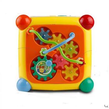 谷雨形状配对儿童数字屋益智玩具