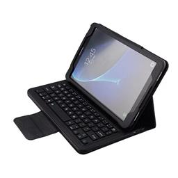 Samsung Tab A 10.1 Keyboard With Bluetooth T580 Leather Case SA1058