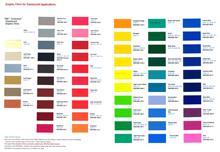 美国视觉高 3M 3630-73 彩色透光贴膜