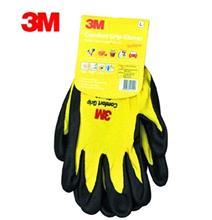 正品3M通用型灵巧防护手套 防滑耐磨手套 运动手套 户外手套 黄色