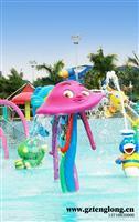 儿童戏水小品   水母喷水 儿童水上乐园设备