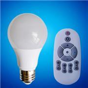 2.4G遥控分组调光调色温球泡灯