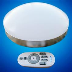2.4 G wireless grouping that move light color temperature remote control LED to absorb dome light