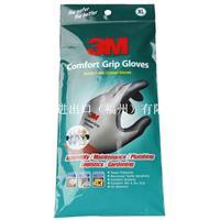 3M 舒适型防滑耐磨手套M(灰)
