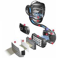 3M Adflo電動送風式Speedglas 9100V自動變光焊接面罩 566605