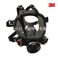 3M7800顶级硅质全面型防护面具