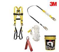 防墜落系列3M 20058裝修用防墜落套裝桶 安全繩 保險帶