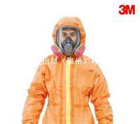 3M 4690 橙色帶帽連體防護服 石油化工生產用 10套/箱