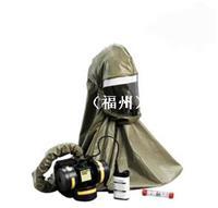 BE10 丁基橡胶头罩配电动送风系统,使用3MTMFR-57滤毒罐(带充电器)