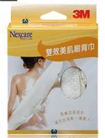 3M 耐適康雙效美肌刷背巾