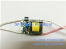 深圳金钰源LED球泡灯射灯蜡烛灯3W 4W可控硅调光电源
