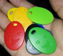 JTRFID3926 NTAG213钥匙扣144BIT存储13.56MHZ高频ISO14443A协议NFC异形卡NFC纽扣卡