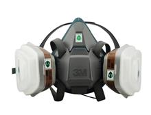 3M 650P硅胶PX防毒防尘面具