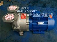 山东淄博2BV6121--5111-316L不锈钢防爆电机耐腐蚀水环式真空泵