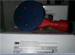 3M 20455五寸五孔背胶打磨机(附吸尘)