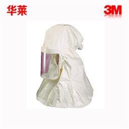 3M HT-120白色聚**头罩(聚乙烯涂层) 1个/件