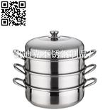不銹鋼蒸鍋(Stainless steel steamer pot)ZD-ZG303