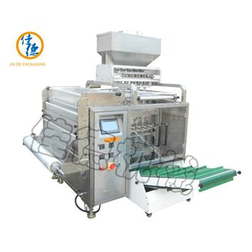 Multi Lanes 4 Side Seals Granule Packing Machine
