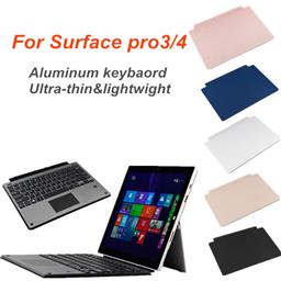 The alluminum bluetooth keyboard for microsoft surface pro3/4
