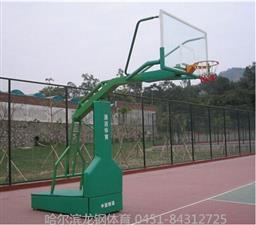 户外学校篮球架