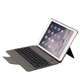 苹果平板ipad air 2 超薄蓝牙键盘皮套 新ipad 2017键盘保护套 ipad无线键盘 T-1097