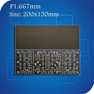 P1.667mm SMD Indoor Full Color LED Module