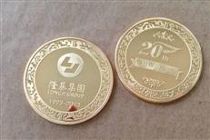 陕西企业999纯银纪念币  陕西庆典周年纯银纪念币定制