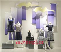 展示服装模特道具4