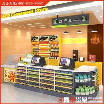 食品店货架