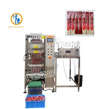 JD-320Y-5 5 lanes stick liquid packing machine