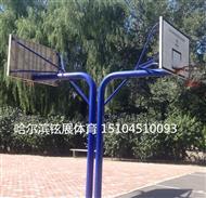 哈尔滨学院篮球架-哈尔滨军营篮球架