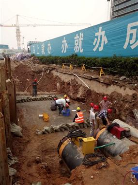 深圳市前海市政工程V标管道安装工程