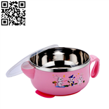 兒童保溫餐碗(Stainless steel Children's tableware)ZD-ETCJ15