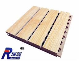 普通槽木吸音板